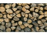 Hardwood split logs for sale FREE Delivery.