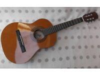 3/4 Size Acoustic Guitar, Vintage BM Infante, Made in Spain