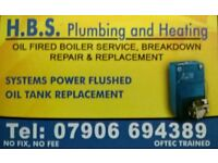 H.B.S Plumbing & Heating ...**Oil fired boiler service + new nozzle £40**