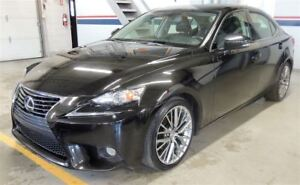 2014 Lexus IS 250 AWD, LEATHER, BACK UP CAMERA
