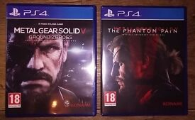 Metal Gear V Games / Phantom Pain & Ground Zeroes