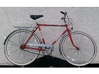 PUCH Sprint vintage gents roadster, 3 speed Sturmey archer, shabby chic hipster look, local delivery