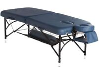 BodyPro Active Deluxe Professional Lightweight Portable Massage Table - Black