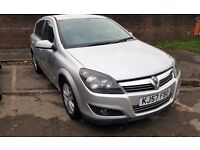 AUXHALL ASTRA SXI CDTI 1.7 DIESEL,5 DOORS SILVER,FULL SERVICE HISTORY.