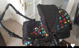 Baby travel system and car seat