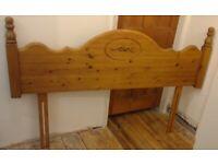 Kingsize Pine Headboard (Antique Pine)