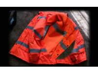 ( Used ) Work Safety High Visibility Jacket