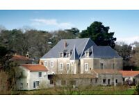 Commercial opportunity to create camping, gites around a Chateau (3km from St Viaud France)