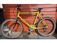MTB/COMMUTE/STUDENT BIKE, 90S RETRO QUALITY PEUGEOT SAHARA,SIZE LARGE,GREAT CONDITION,MADE IN FRANCE