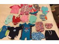 Swim suits, swim nappies, swim costumes
