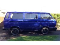 VW Transporter 112 Campervan Motor Caravan T25