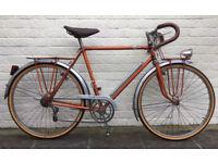 Vintage 1955 Treblig French Randonneur Bike 650B - Simplex Rod Shift - Fully Overhauled