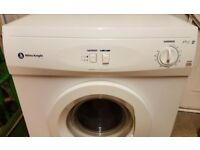 FULL SIZE TUMBLE DRYER, WHITE KNIGHT. WORKS VERY WELL. LARGE CAPACITY. VENT HOSE.COULD DELIVER LOCAL