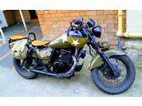 Suzuki gz125 Harley Davidson lookalike