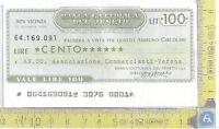Miniassegno - Banca Cattolica Del Veneto - Minicheck -  - ebay.it