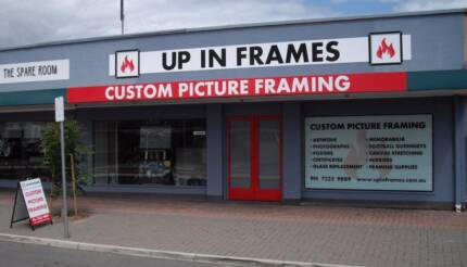Successful picture framing business for sale