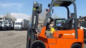 2000 Chariot élévateur/Forklift, Nissan PJ01A15PV