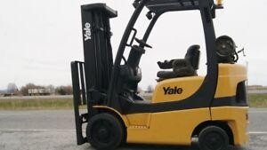 2005 Chariot élévateur/Forklift, Yale GLC050