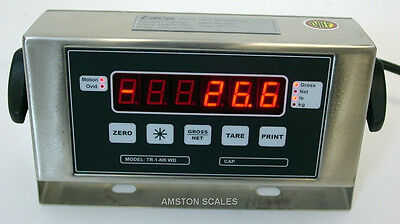 Digital Scale Indicator Ntep Legal For Trade Washdown Display Head Read Out -new