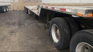 53ft Tri Axel Step Deck Trailer for sale