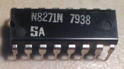 Signetics N8271n 8271 - 4 Bit Shift Register - Nos