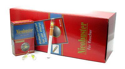 1 Karton Nicobuster Filter Zigarettenspitzen 24*30 Stk. Cigarette Holder Display