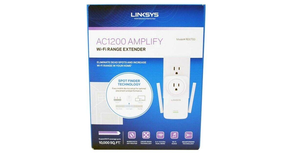 Linksys AC1200 Amplify Dual Band High-Power Wi-Fi Gigabit Ra