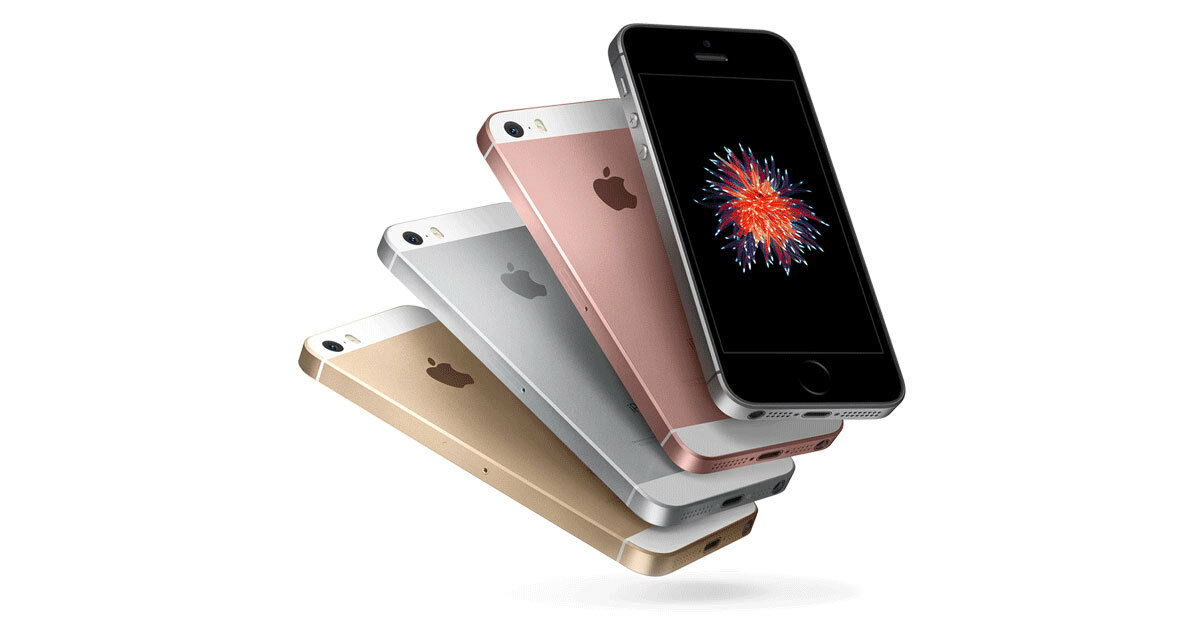 SELLER REFURBISHED APPLE IPHONE SE UNLOCKED GSM (AT&T T-MOBILE) 4G LTE SMARTPHONE 16GB 64GB 128GB