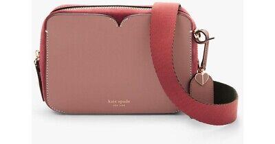 Kate Spade Candid Medium Leather Cross Body Camera Bag, In Tinted Rose