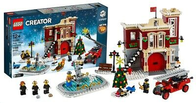 LEGO Creator Christmas 10263 Winter Village Fire Station New Factory Sealed