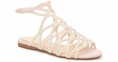 Vince Camuto Imagine Light Pink Embellished sequin sandals size 38