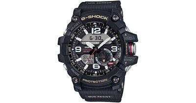 *New Casio G-Shock Mudmaster GG-1000-1AER Twin Sensor Compass Black Mens Watch*