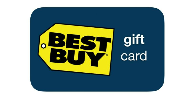 Best Buy Gift Card - Physical Cards (up to 500$)