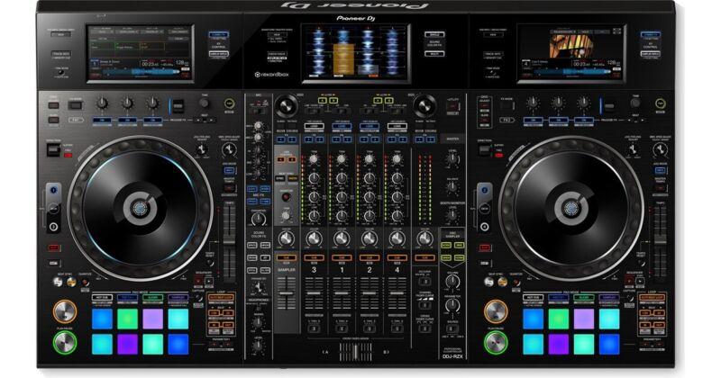 Pioneer DJ DDJ-RZX Professional 4-Channel Controller for Rekordbox DJ & Video