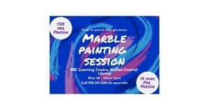 Marble Painting Session