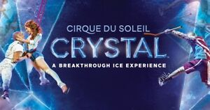 Pair of tickets to Crystal - Cirque , June 20th