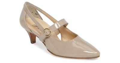 Paul Green  Mara Mary Jane Taupe Patent Leather Shoes Sz 6 (8.5 US) Sale!