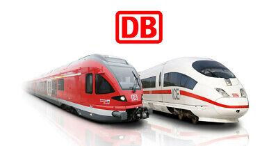 DB Deutsche Bahn Bahnticket ICE IC EC Gutschein Fahrkarte Maxdome / MyTrain LIDL Ice Dome