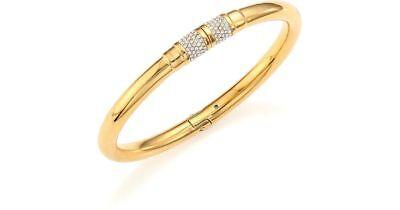 Michael Kors Park Avenue Crystal Magnetic Closure Bracelet Gold MKJ4916 ()