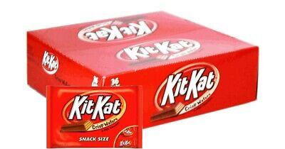 Halloween Kit Kat Bars (KIT KAT 🥛 🍫 Covered Crisp Wafers 1.5 Oz Bars each 36PK 2DAYSSHIP 🇺🇲 READ 📖)