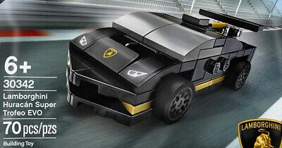 New LEGO Speed Champions 30342 LAMBORGHINI Huracan Super Trofeo w/Legoland BONUS