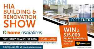 HIA Building and Renovation Show Mayfield West Newcastle Area Preview