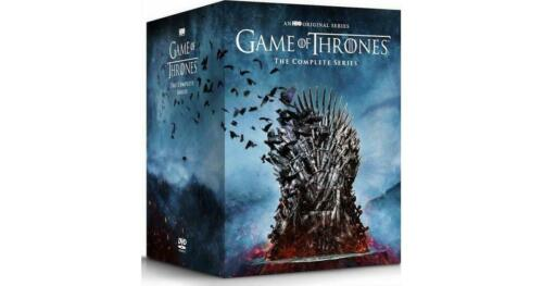 Game of Thrones Complete Series Seasons 1-8 (DVD, 38-Disc Set) FREE Shipping