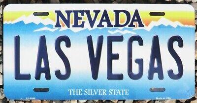 Blechschild  LAS VEGAS NEVADA  Neu 30x15cm USA  License Plate Nummernschild