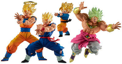 Bandai Dragon Ball Super VS Battle Figure 17 Gashapon set 4 pcs