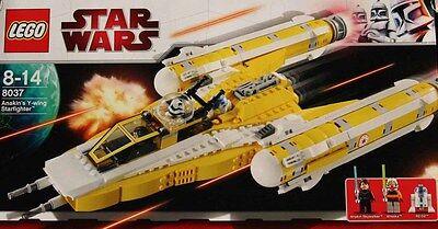 Lego Star Wars #8037 Anakin's Y Wing Starfighter New