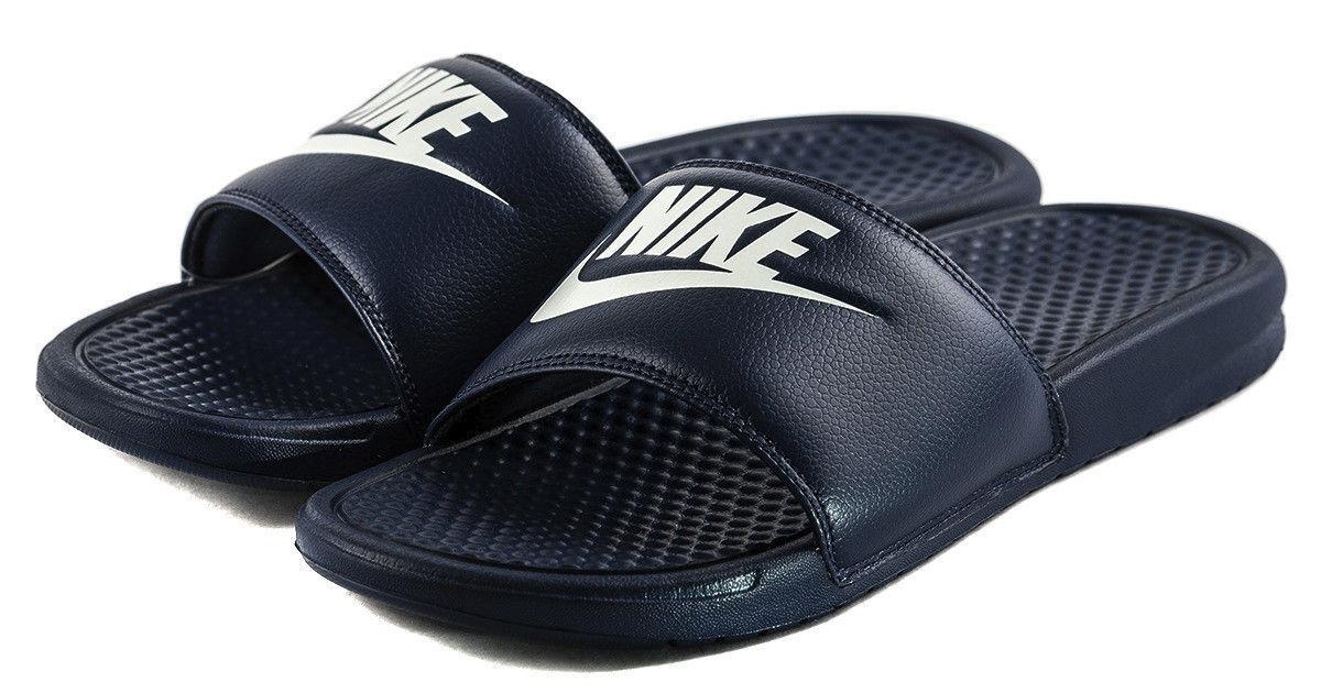 air benassi jdi blue white slide slippers