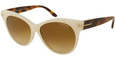 d01507be47 Tom Ford TF330 20F White Ivory   Brown Gradient Sunglasses