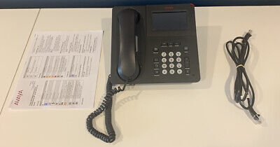 Avaya 9621g Multi-line Voip Business Conference Telephone Poe