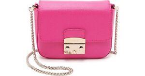 FURLA METROPOLIS Chain Bag/Handbag HOT PINK Melbourne CBD Melbourne City Preview
